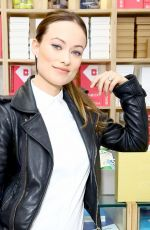 OLIVIA WILDE at Conscious Commerce + Birchbox Collaboration Celebration in New York