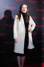 OLIVIA WILDE at Revlon Love Is On Campaign Launch in New York