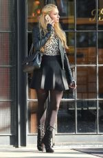 PARIS HILTON Leaves Her Hotel in New York 2411