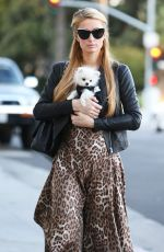 PARIS HILTON Out Shopping in Beverly Hills 0311