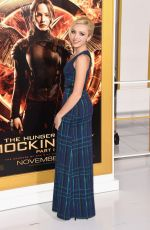 PEYTON LIST at The Hunger Games: Mockingjay – Part 1 Premiere in Los Angeles