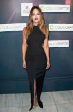 PIA TOSCANO at colaborator.com Launch Party in Los Angeles
