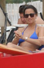 PIPPA MIDDLETON in Bikini at a Beach in Italy