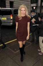 PIXIE LOTT Arrives at BBC Radio 2 Studios in London