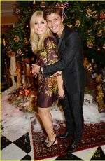 PIXIE LOTT at Dolce & Gabbana Christmas Tree Party in London