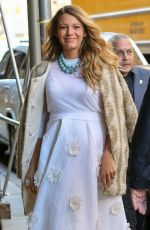 Pregnant BLAKE LIVELY Out and About in New York