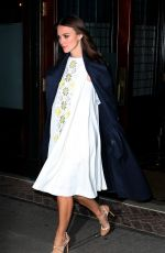 Pregnant KEIRA KNIGHTLEY Leaves a Downtown Hotel in New York