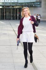 RACHEL RILEY Arrives at BBC Radio Studios in London 0111