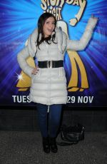 REBECCA RYAN at Saturday Night Fever Press Night in Manchester