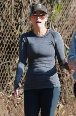 REESE WITHERSPOON Out Jogging with Friends in Los Angeles 2211