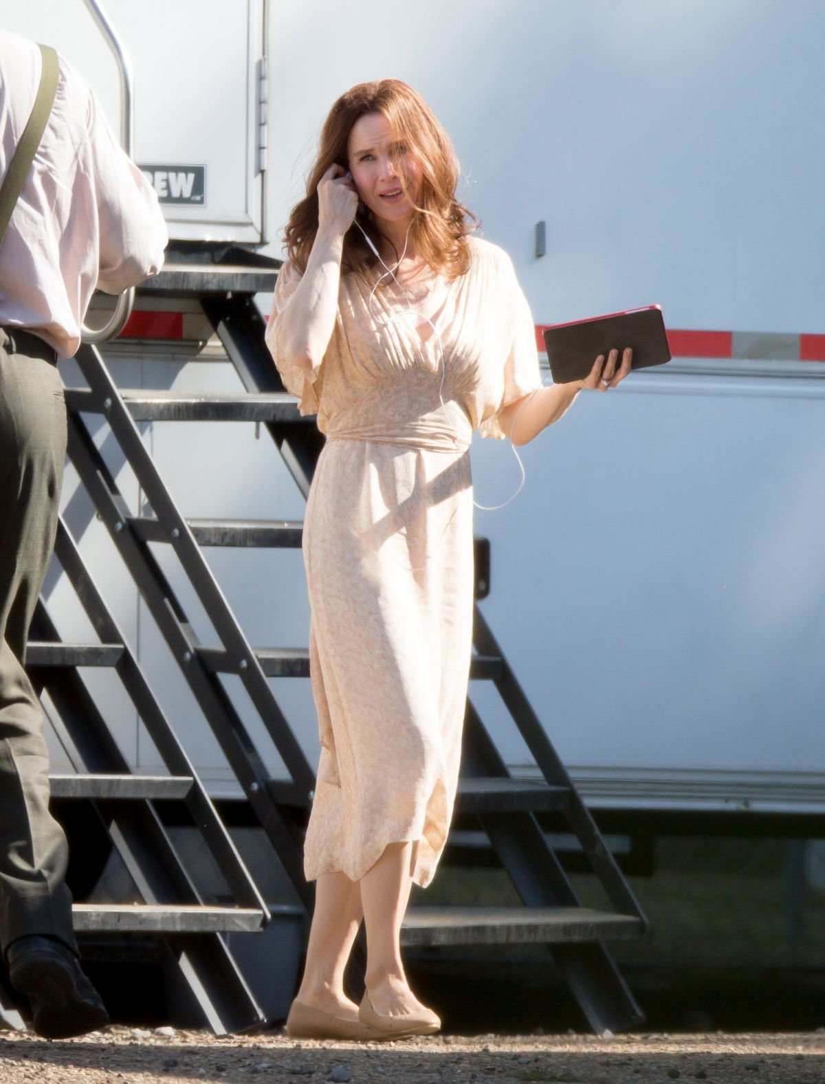 RENEE ZELLWEGER on the Set of Her New Movie in Mississippi ...
