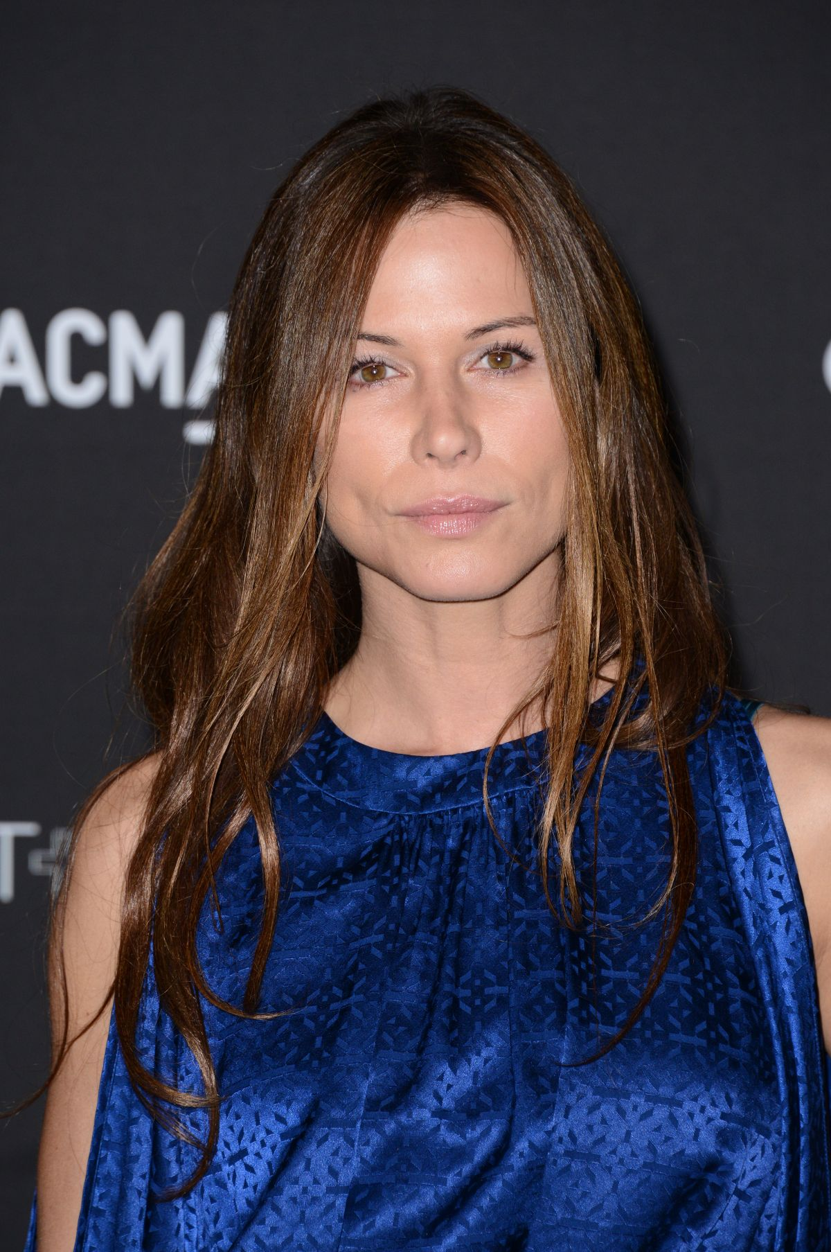RHONA MITRA at 2014 Lacma Art + Film Gala in Los Angeles