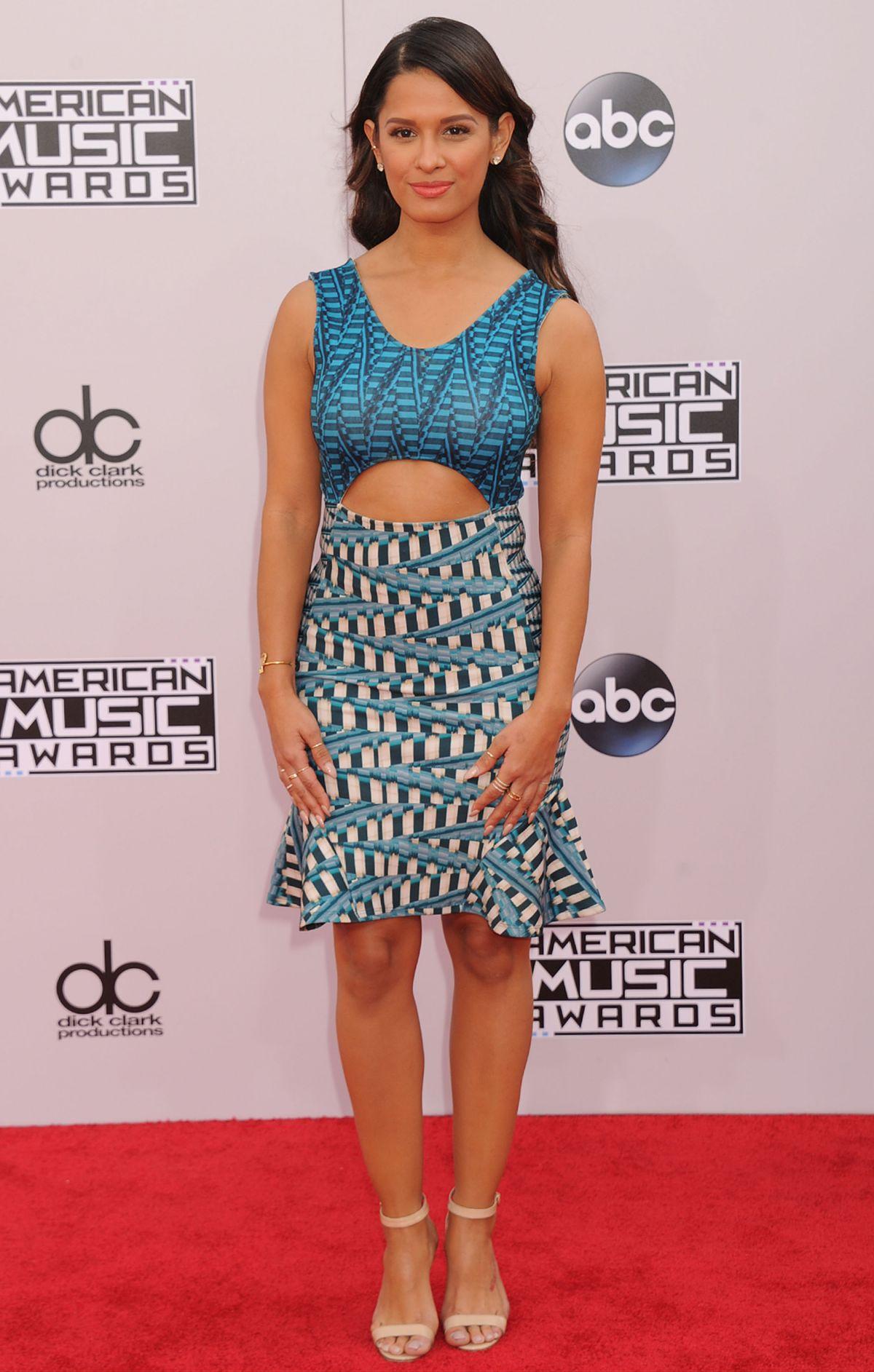 ROCSI DIAZ at 2014 American Music Awards in Los Angeles