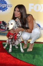 ROSELYN SANCHEZ at Fox's Cause for Pawns an All-Star Dog Event in Santa Monica