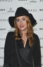 ROSIE FORTESCUE at Sony Pool Party at Haymarket Hotel in London