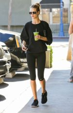 ROSIE HUNTINGTON-WHITELEY in Leggings Heading to a Gym in Beverly Hills 2711