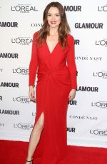 SAFFRON BURROWS at Glamour Women of the Year 2014 Awards in New York