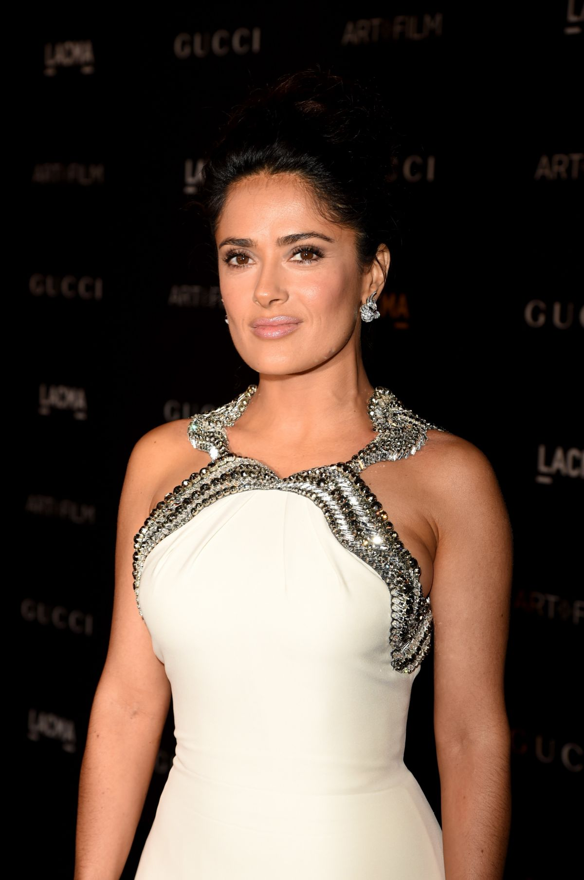 SALMA HAYEK at 2014 Lacma Art + Film Gala in Los Angeles - HawtCelebs ...
