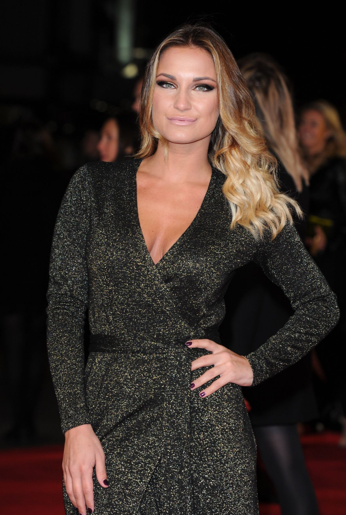 SAM FAIERS at The Hunger Games: Mockingjay Part 1 Premiere in London