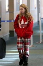 SAMMI HANRATTY at Vancouver Airport