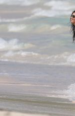 SARA SAMPAIO in Bikini at a Photoshoot for Victoria