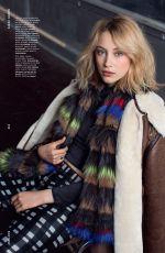 SARAH GADON in Asos Magazine, November 2014 Issue