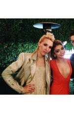 SARAH HYLAND Celebrates Her 24th Birthday in Los Angeles