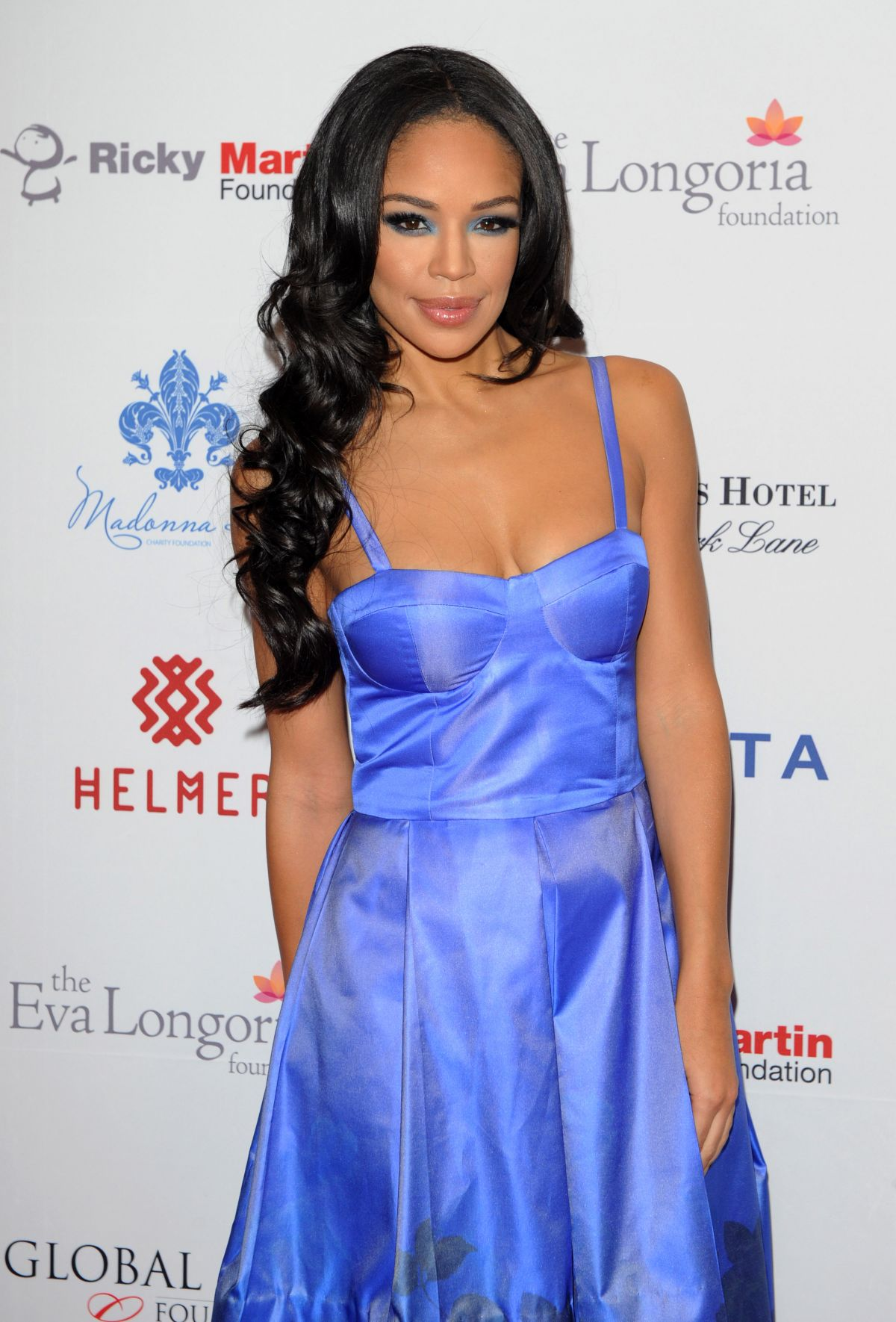 SARAH-JANE CRAWFORD at Global Gift Gala in London
