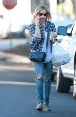 SARAH MICHELLE GELLAR in Jeans Out and About in Los Angeles 2611