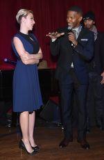 SCARLETT JOHANSSON at Champions of Rockaway Hurricane Sandy Fundraiser in New York