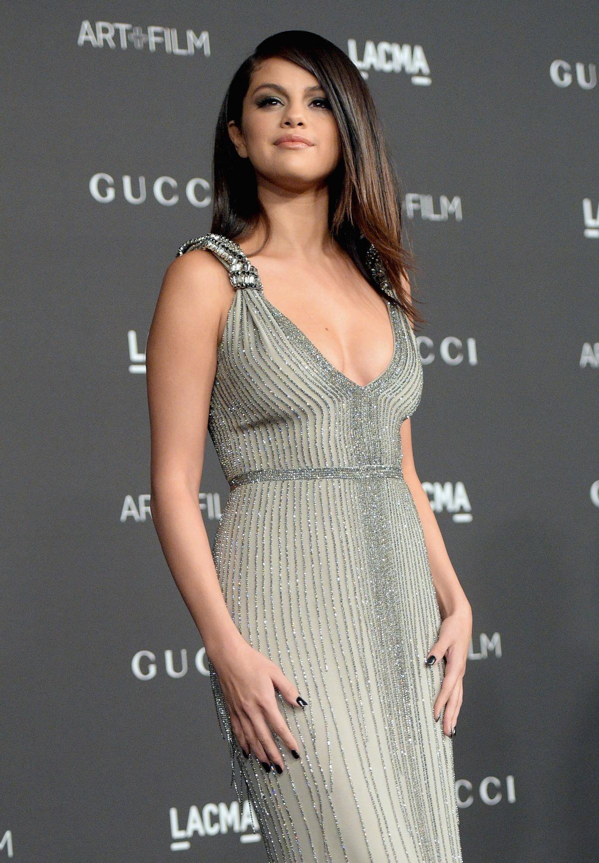 Selena gomez at 2014 lacma art film gala in los angeles hawtcelebs hawt - Photo selena gomez 2014 ...