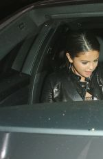 SELENA GOMEZ Leaves Il Cielo Restaurant in Beverly Hills
