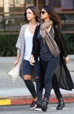SELENA GOMEZ Leaves Starbucks in Los Angeles 0211