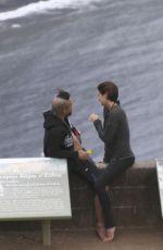 SHAILENE WOODLEY and Her Boyfriend Nakho on the Hamakua coast in Hawaii