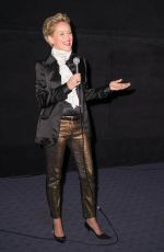 SHARON STONE at Kurmanjan Datka: Queen of the Mountains Screening in Hollywood