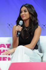 SHAY MITCHELL at Cosmopolitan Magazine's Fun Fearless Life Conference in New York