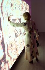 SIENNA MILLER at Inside Rolls-Royce Opening Night at Saatchi Gallery in London