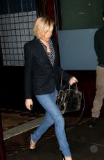 SIENNA MILLER in Jeans Out in Soho