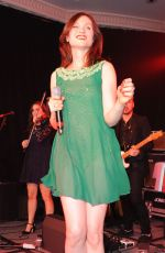 SOPHIE ELLIS-BEXTOR Performs at Caron Keating Anniversary Dinner in London