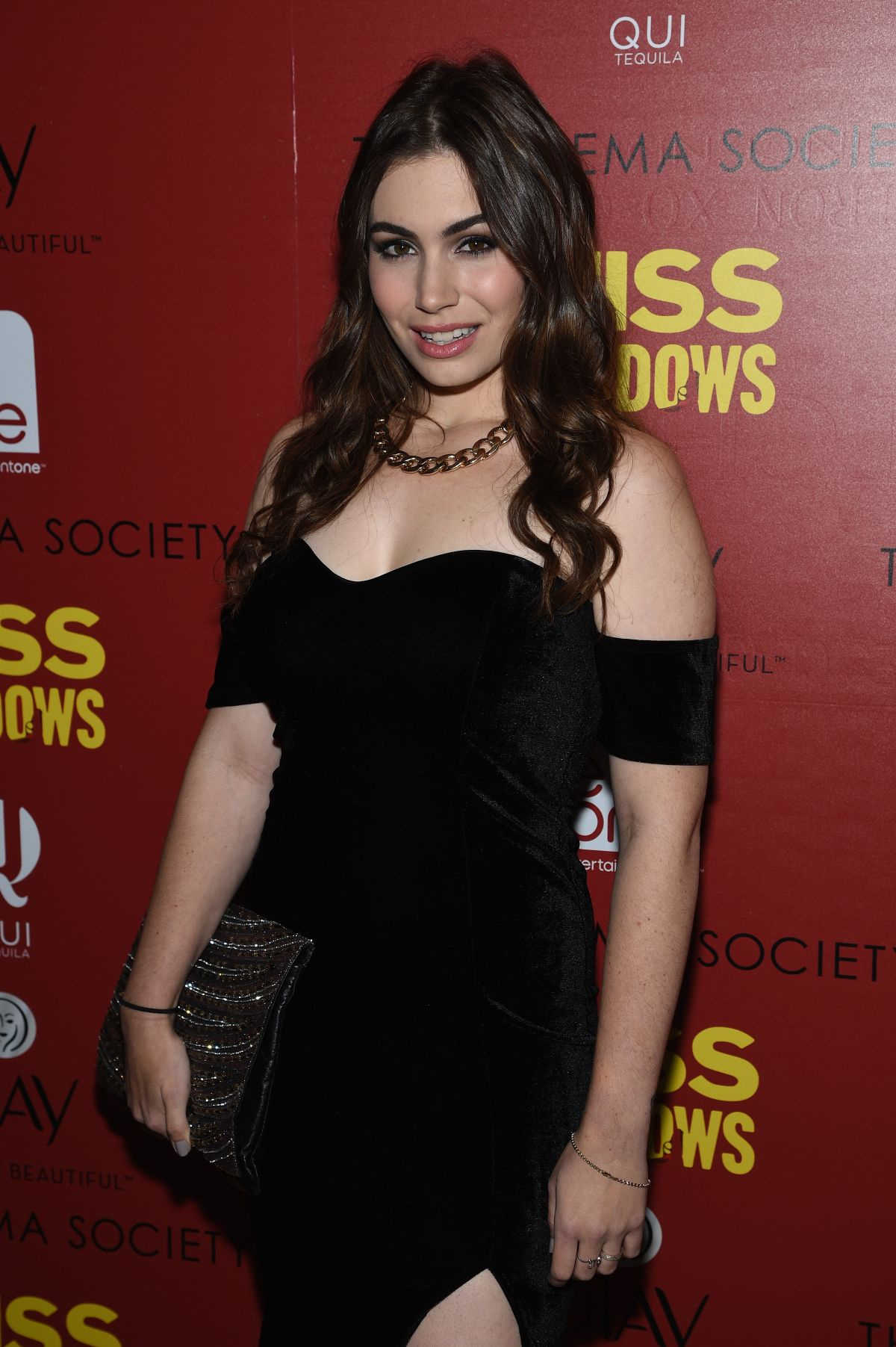 SOPHIE SIMMONS at Miss Meadows Screening in New York