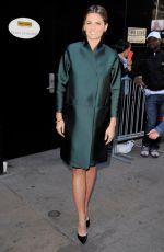 STANA KATIC Arrives at Good Morning America in New York