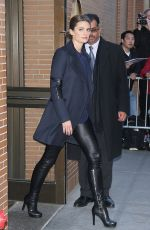 STANA KATIC Arrives at The View in New York