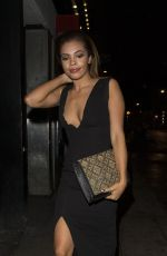 STEPHANIE NALA at Now Christmas Party in London