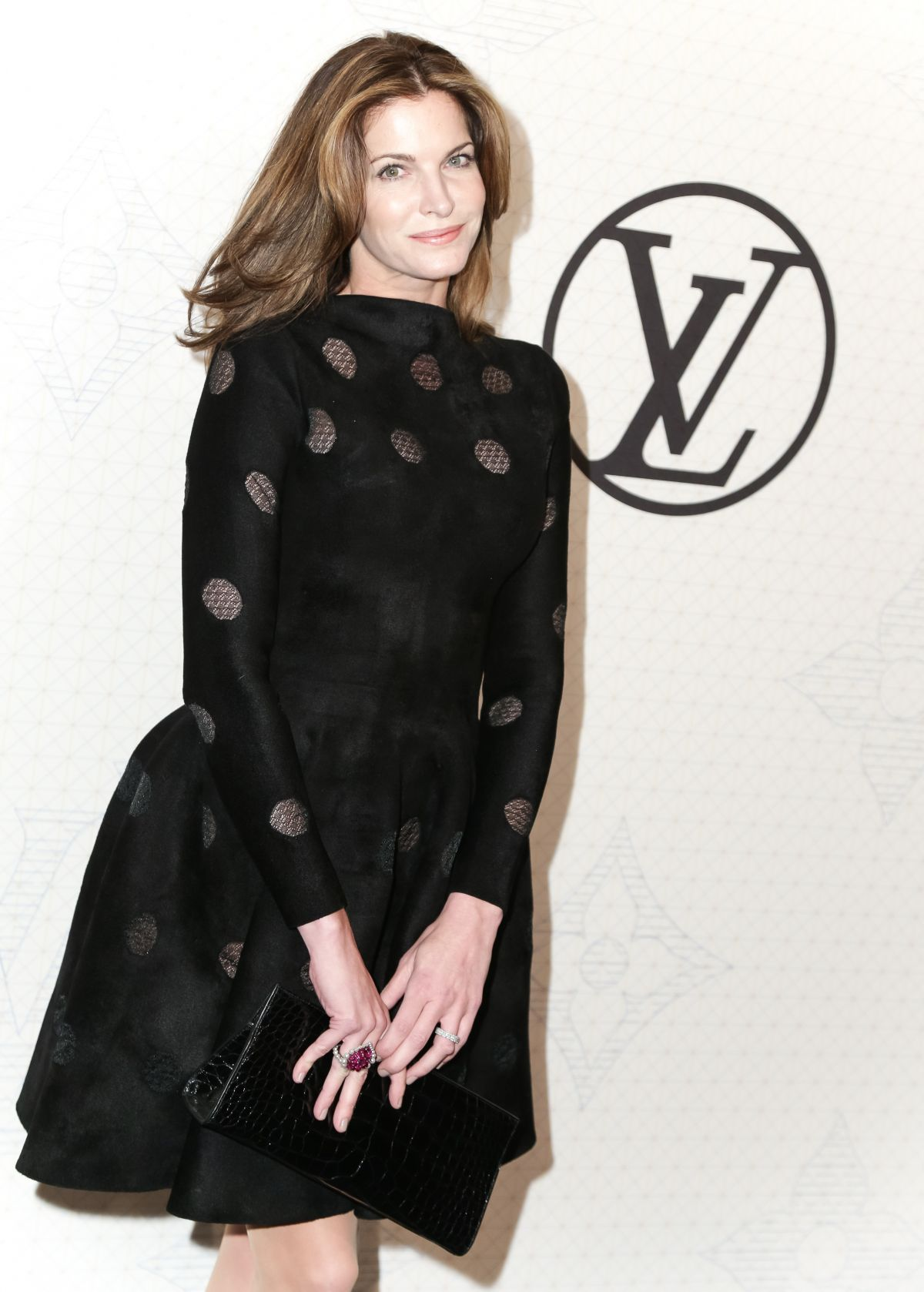 STEPHANIE SEYMOUR at Louis Vuitton Monogram Celebration in New York