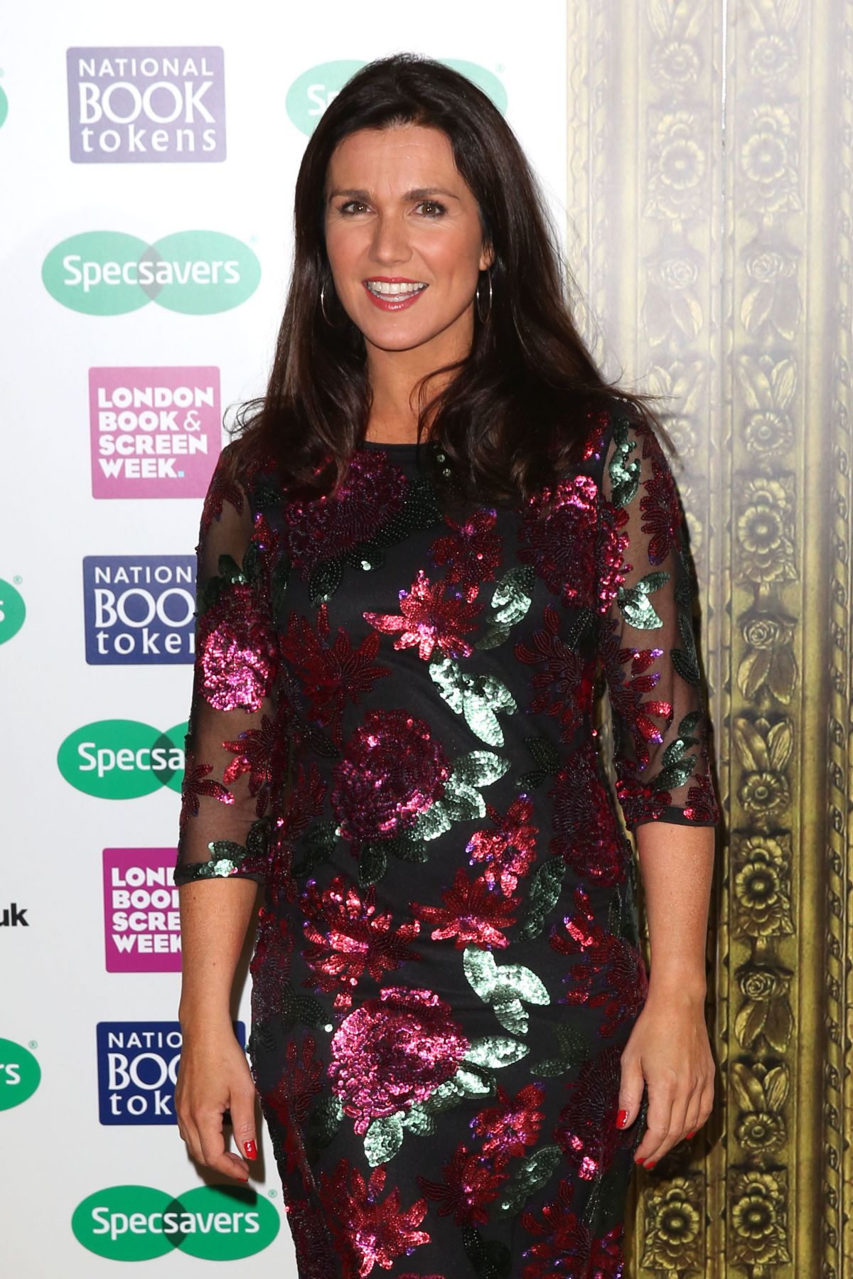 SUSANNA REID at Specsavers National Book Awards in London ...