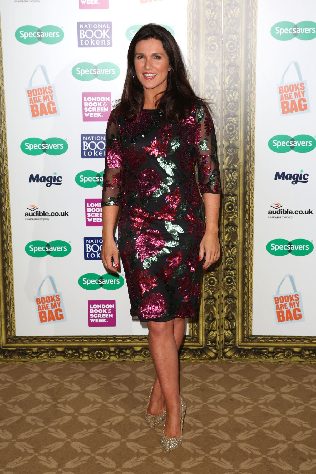 susanna reid at specsavers national book awards in london susanna reid at specsavers national book awards in london