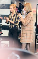 TAYLOR SWIFT and KARLIE KLOSS Out Shopping in New York