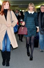 TAYLOR SWIFT Arrives at Narita International Airport in Tokyo 0411