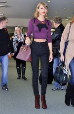 TAYLOR SWIFT at Narita International Airport in Tokyo 0811