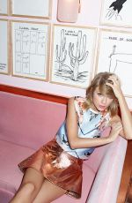 TAYLOR SWIFT in Asos Magazine, January 2015 Issue